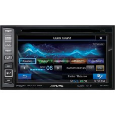 Alpine In-Dash DVD/GPS Navigation Receiver With SiriusXM Tuner