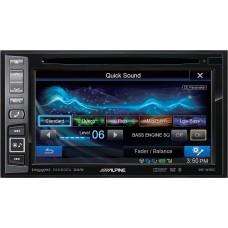 Alpine In-Dash DVD/GPS Navigation Receiver With SiriusXM Tuner